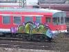 Grafitti Güterbahnhof