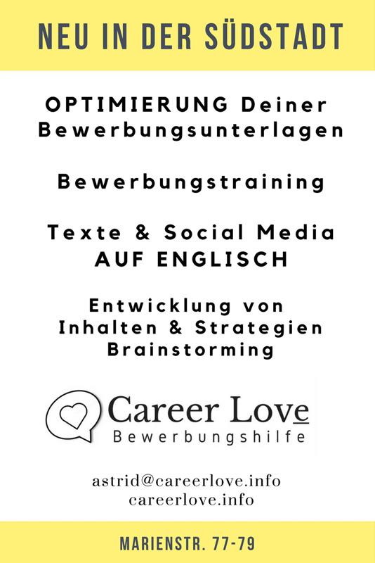 Careerlove Bewerbungshilfe Südstadt Karlsruhe Wwwsuedstadtorg