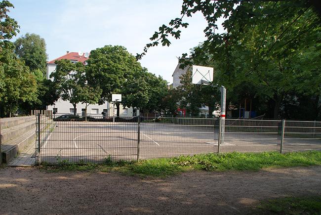 Spielplatz zwichen Rüppurrerstraße, Morgenstraße und Rankestraße