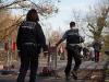 Die Polzei sperrt wieder ab