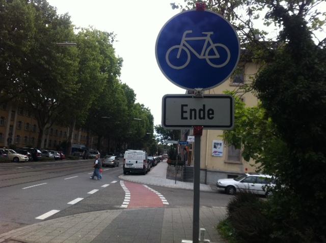 Radweg Rüppurrerstraße