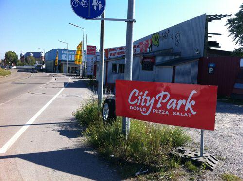 City Park Döner Pizza Salat