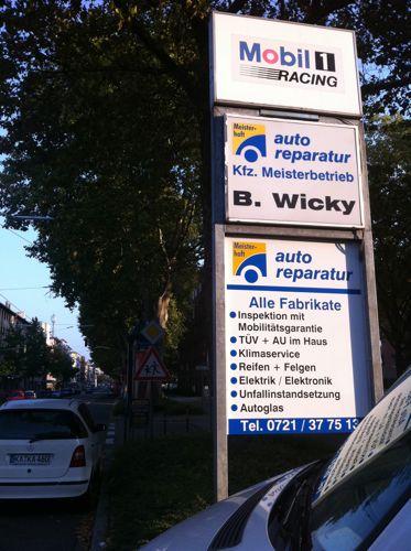 B. Wicky Kfz-Meisterbetrieb