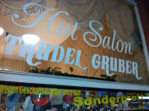 Trudel Gruber – Hutladen für Damen