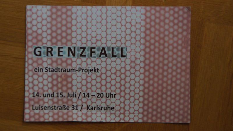 """Ausstellung """"Grenzfall"""""""