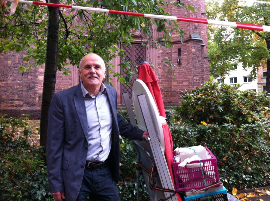 Kandidat für die Oberbürgermeisterwahl Friedemann Kalmbach