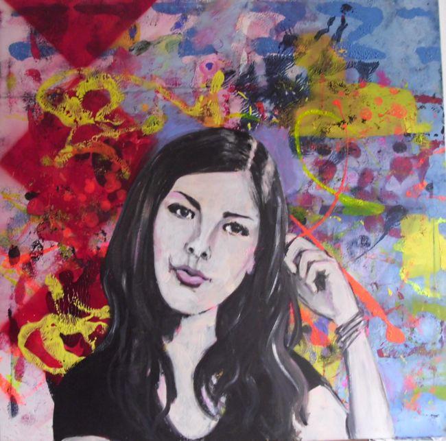 Malerin Judith Arndt