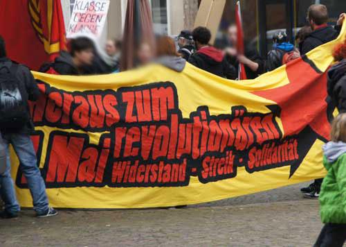 Erster Mai-Demo