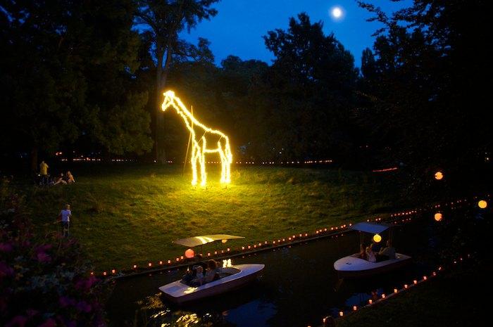 44. Lichterfest im Stadtgarten Zoo