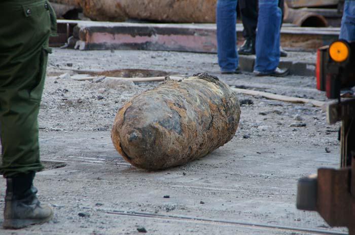 Bombenfund 16. März 2014