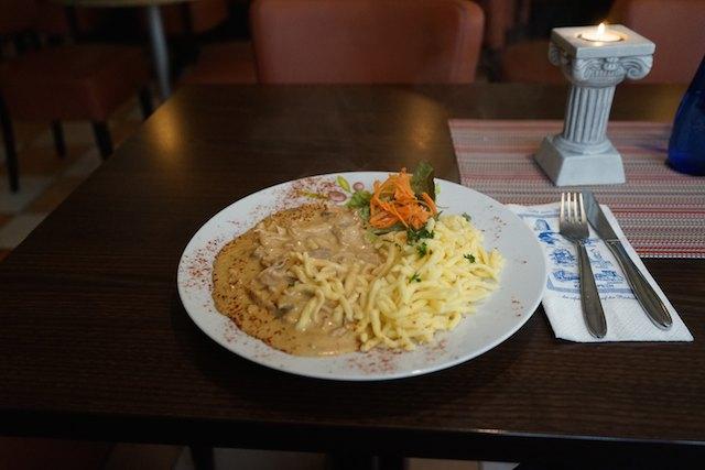 Mittagstisch im Walhalla