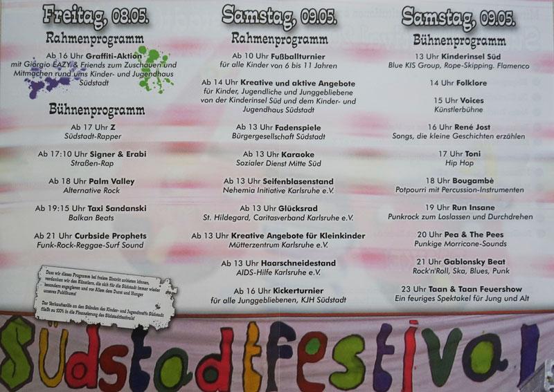 Südstadtfest 2015