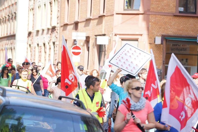 ErzieherInnen Verdi-Streik
