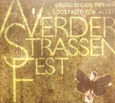 11.07.2015 – Werderstraßenfest – GRENZENLOS FEIERN – SÜDSTADT FÜR ALLE
