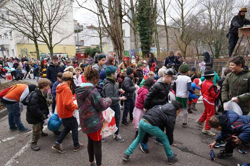 Südstadt Kinderfasnetumzug 2016
