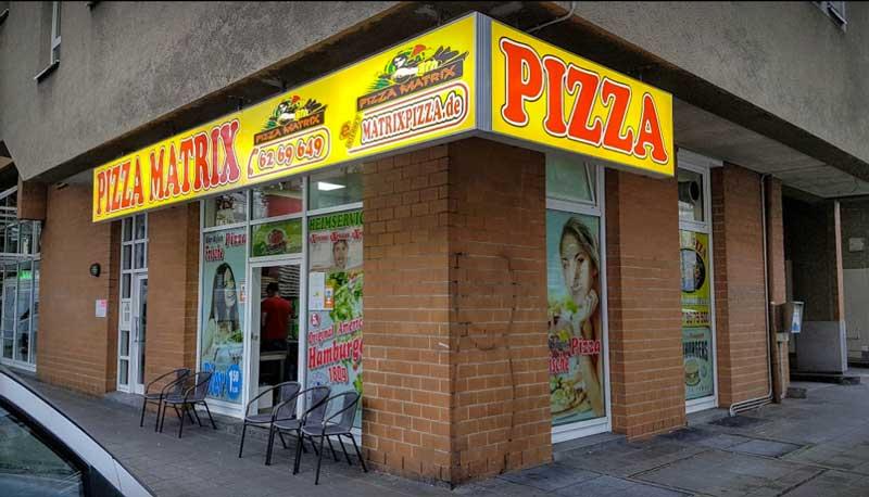 Matrix Pizza