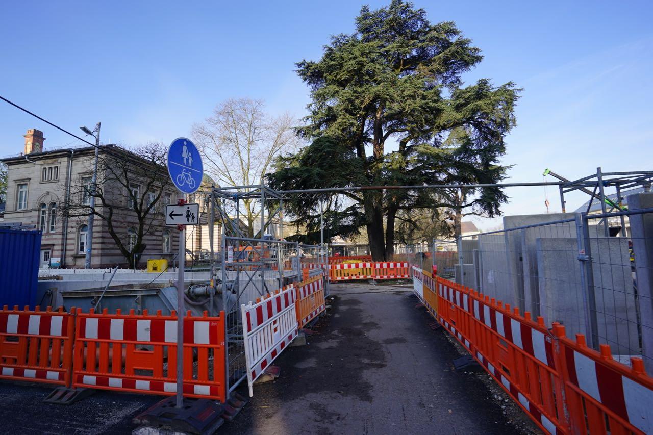 Kombilösung – U-Strab – Südstadt März 2017