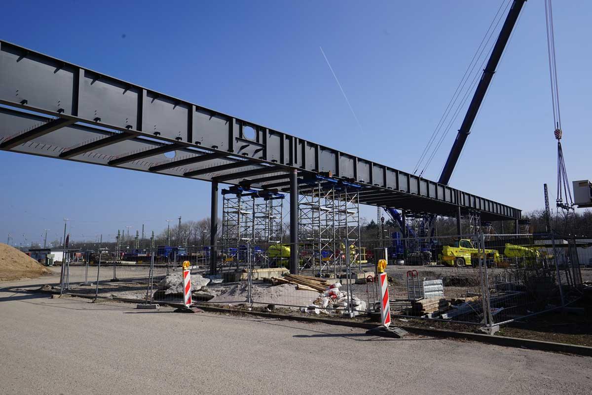 Neue Wasserwerkbrücke