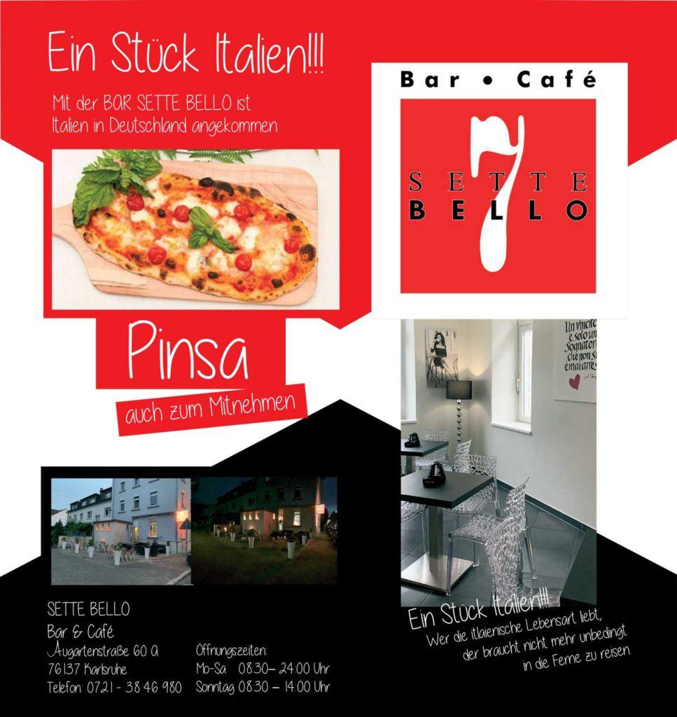Pinsa, Cafe, Aperitivo