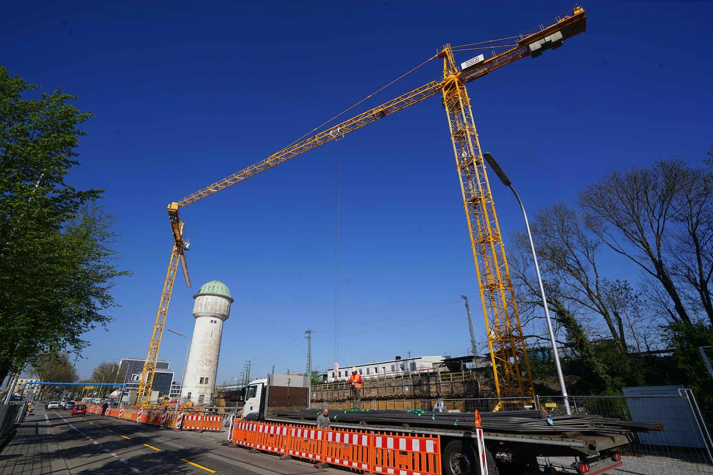 Baustellen südliche Südstadt